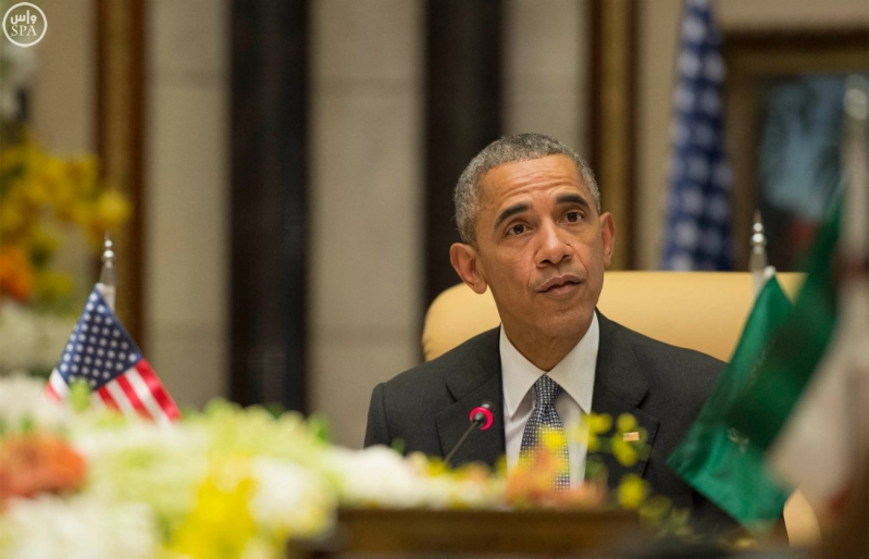 القاده يختتمون القمه الخليجية الامريكية (14)