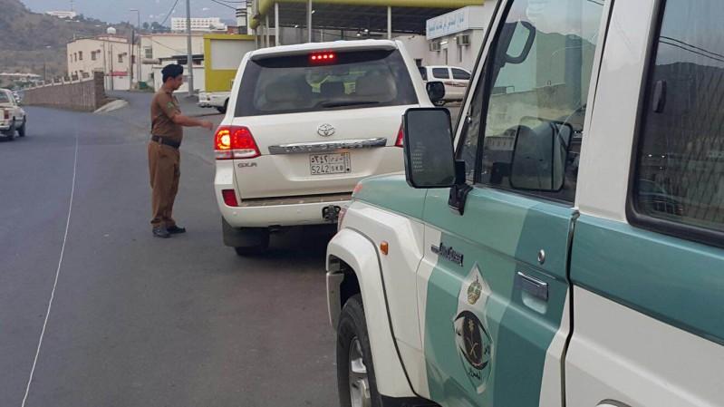 القبض-على-سائق-متهور