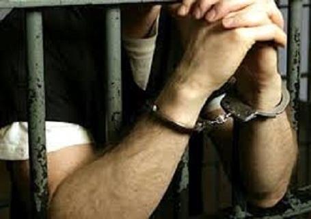 القبض على - سجن - كلبشات - مسجون