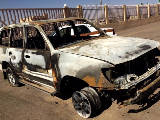 . القبض على شابين أشعلا النار بسيارة مواطن بالقصيم (3)