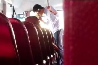 ضبط شاب عشريني تلفظ على سائق حافلة بـ #الجبيل - المواطن