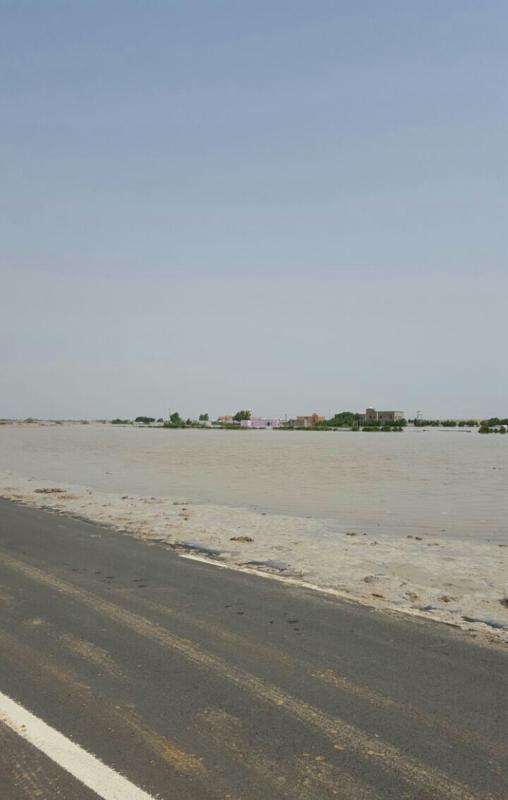 القرى المحاصره بالسيول2