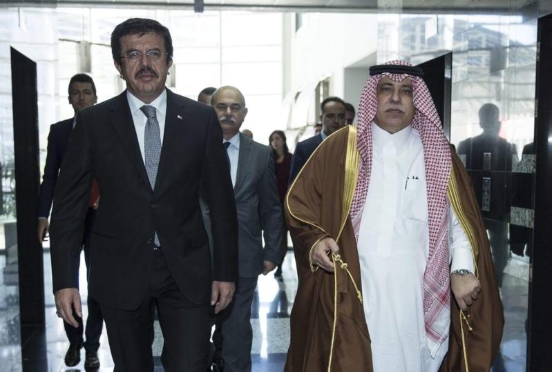 القصبي ووزير الاقتصاد التركي2
