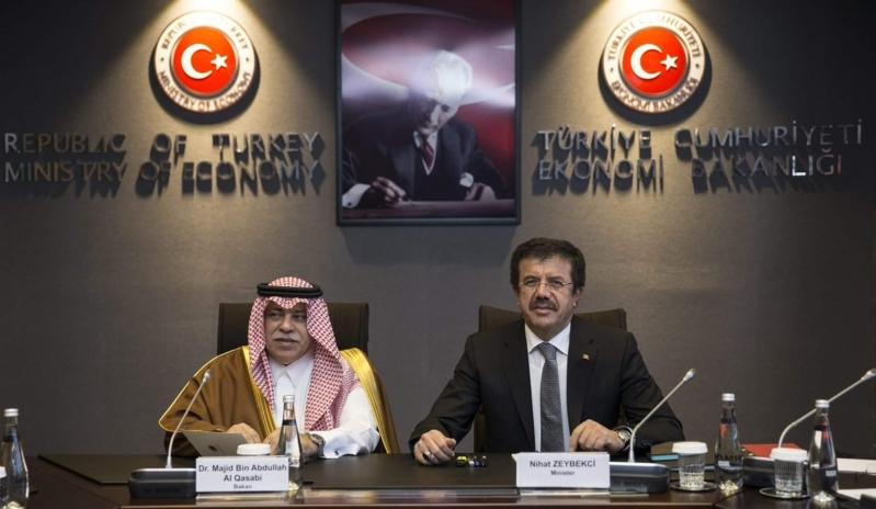 القصبي ووزير الاقتصاد التركي3