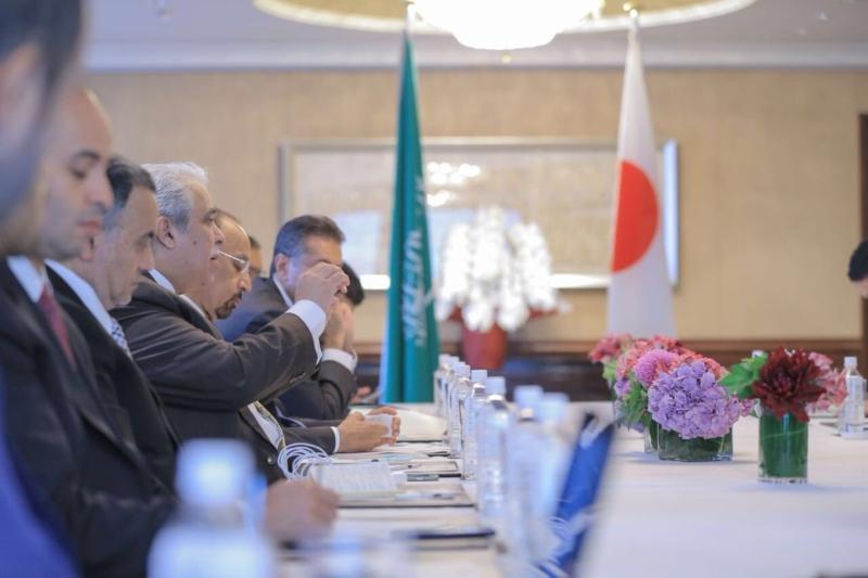 القصبي يلتقى الرئيس التنفيذي لشركة تويوتا