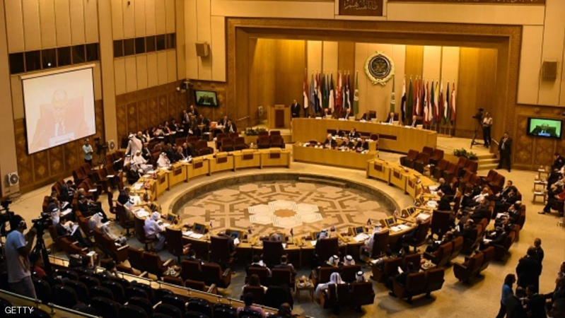 Arab League foreign ministers attend a meeting in the Egyptian capital Cairo on August 5, 2015. Fifteen Arab League foreign ministers met in Cairo to discuss clashes involving Israeli police at the Al-Aqsa mosque compound in Jerusalem. AFP PHOTO / MOHAMED EL-SHAHED        (Photo credit should read MOHAMED EL-SHAHED/AFP/Getty Images)