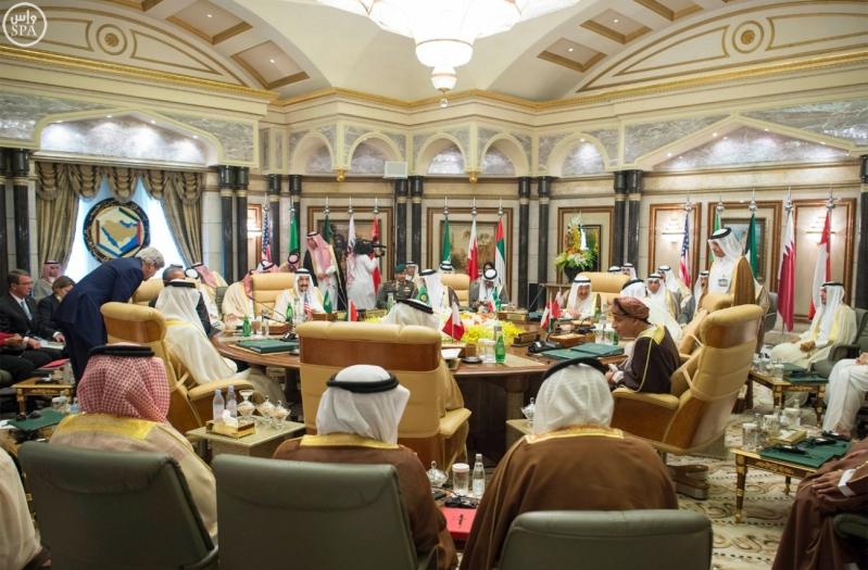القمه الخليجيه الامريكية (1)