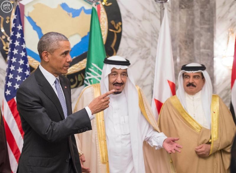 القمه الخليجيه الامريكية (2)