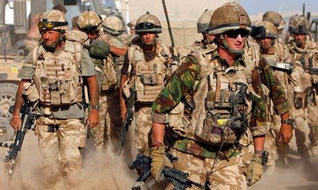 قوات النخبة البريطانية في طريقها إلى بحر عمان لمواجهة إرهاب إيران - المواطن