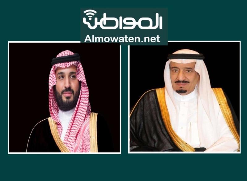 الملك سلمان وولي العهد يهنئان الشيخ مشعل الأحمد الجابر الصباح