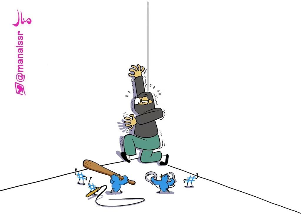 الكاريكاتير فن ذكوري (1)