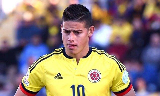 الكولومبي جيمس رودريغيز