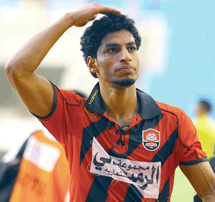 اللاعب عبدالعزيز الجبرين - الرائد