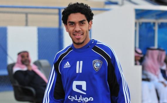 اللاعب عبدالعزيز الدوسري