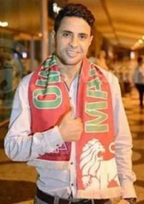 اللاعب محمد إبراهيم -لاعب نادي بارتيمو البرتغالي