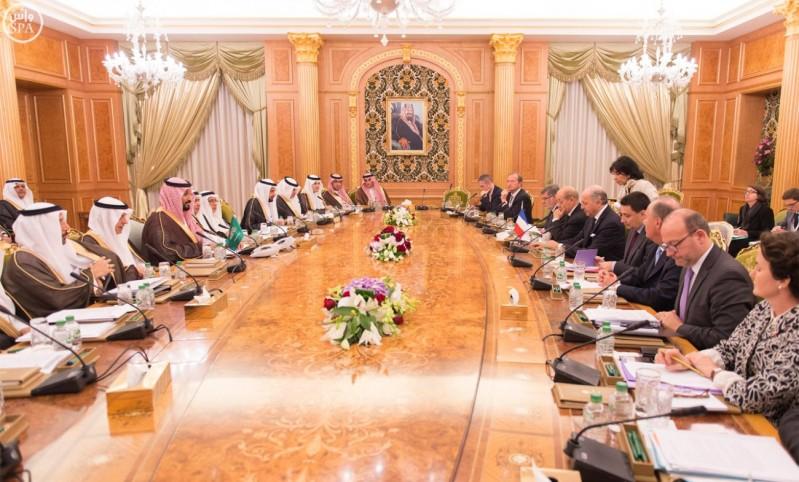 اللجنة التنسيقية الدائمة السعودية الفرنسية تعقد اجتماعها الثاني (واس) 29-12-1436 هـ 2