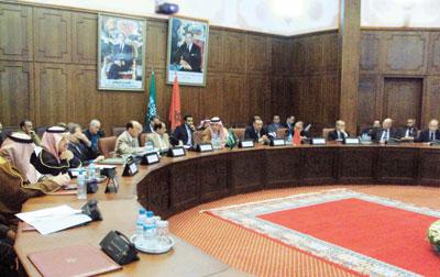 اللجنة السعودية المغربية المشتركة