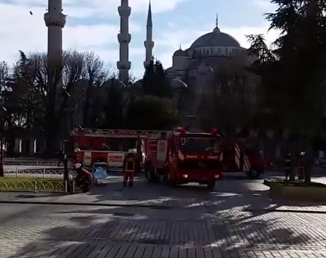 اللقطات الأولى عقب انفجار #إسطنبول