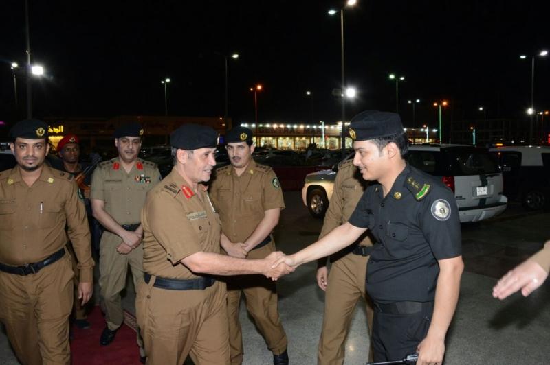 اللواء الدويسي يدشن حملة عيّد بسلام المرورية بجازان (270503785) 