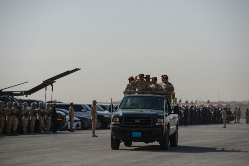 """اللواء العتيبي يتفقد جاهزية الوحدات المشاركة بالتمرين المشترك """"أمن الخليج العربي1"""" (10)"""