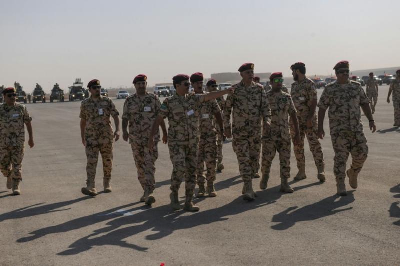 """اللواء العتيبي يتفقد جاهزية الوحدات المشاركة بالتمرين المشترك """"أمن الخليج العربي1"""" (17)"""