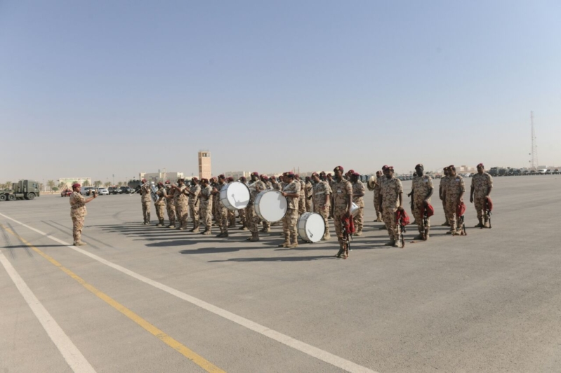 """اللواء العتيبي يتفقد جاهزية الوحدات المشاركة بالتمرين المشترك """"أمن الخليج العربي1"""" (24)"""