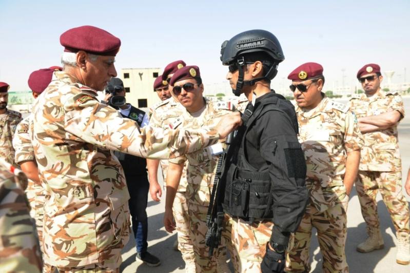 """اللواء العتيبي يتفقد جاهزية الوحدات المشاركة بالتمرين المشترك """"أمن الخليج العربي1"""" (27)"""