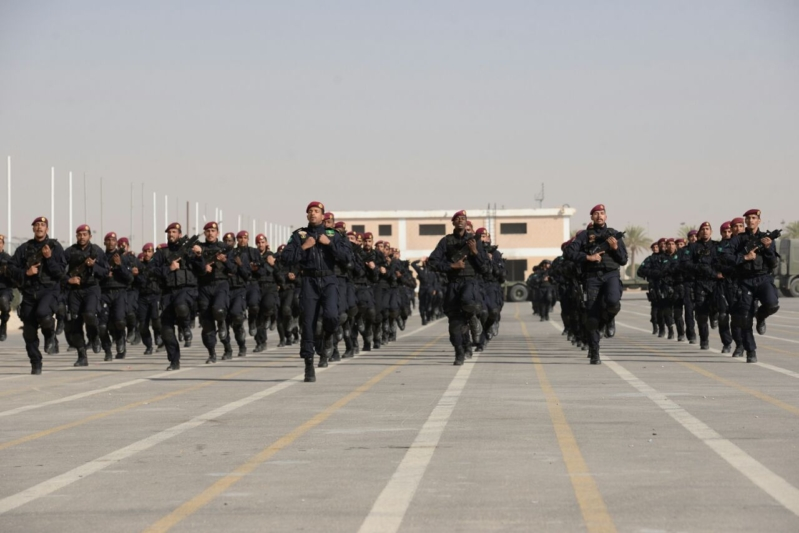 """اللواء العتيبي يتفقد جاهزية الوحدات المشاركة بالتمرين المشترك """"أمن الخليج العربي1"""" (28)"""