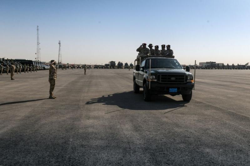 """اللواء العتيبي يتفقد جاهزية الوحدات المشاركة بالتمرين المشترك """"أمن الخليج العربي1"""" (3)"""