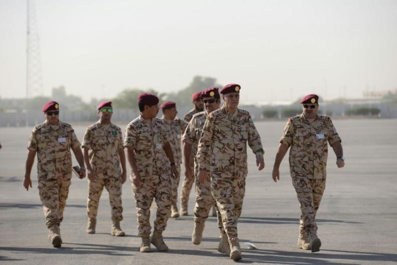 """اللواء العتيبي يتفقد جاهزية الوحدات المشاركة بالتمرين المشترك """"أمن الخليج العربي1"""" (30)"""
