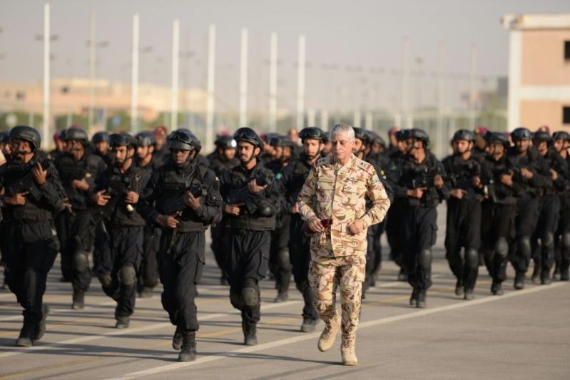 """اللواء العتيبي يتفقد جاهزية الوحدات المشاركة بالتمرين المشترك """"أمن الخليج العربي1"""" (31)"""