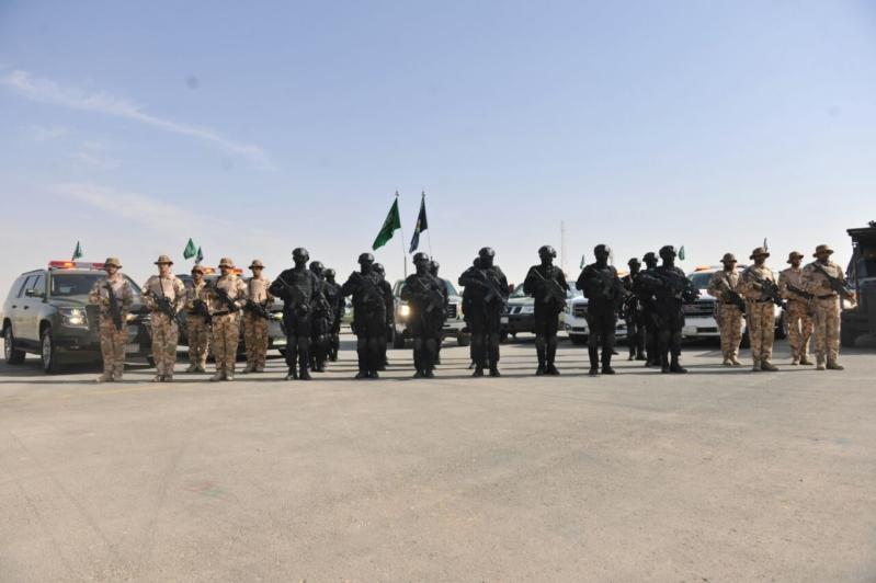 """اللواء العتيبي يتفقد جاهزية الوحدات المشاركة بالتمرين المشترك """"أمن الخليج العربي1"""" (34)"""