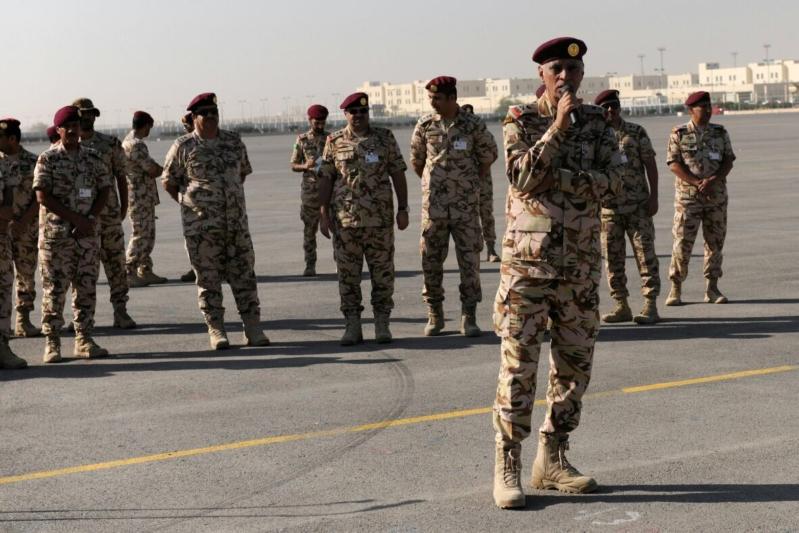 """اللواء العتيبي يتفقد جاهزية الوحدات المشاركة بالتمرين المشترك """"أمن الخليج العربي1"""" (35)"""