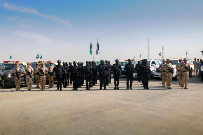 """اللواء العتيبي يتفقد جاهزية الوحدات المشاركة بالتمرين المشترك """"أمن الخليج العربي1"""" (4)"""