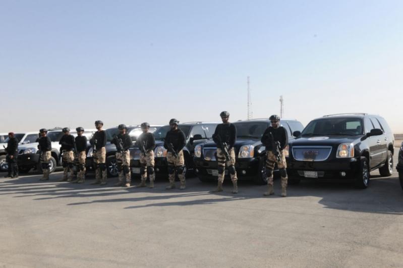 """اللواء العتيبي يتفقد جاهزية الوحدات المشاركة بالتمرين المشترك """"أمن الخليج العربي1"""" (5)"""