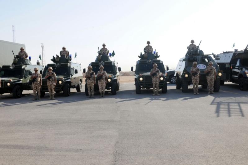 """اللواء العتيبي يتفقد جاهزية الوحدات المشاركة بالتمرين المشترك """"أمن الخليج العربي1"""" (6)"""