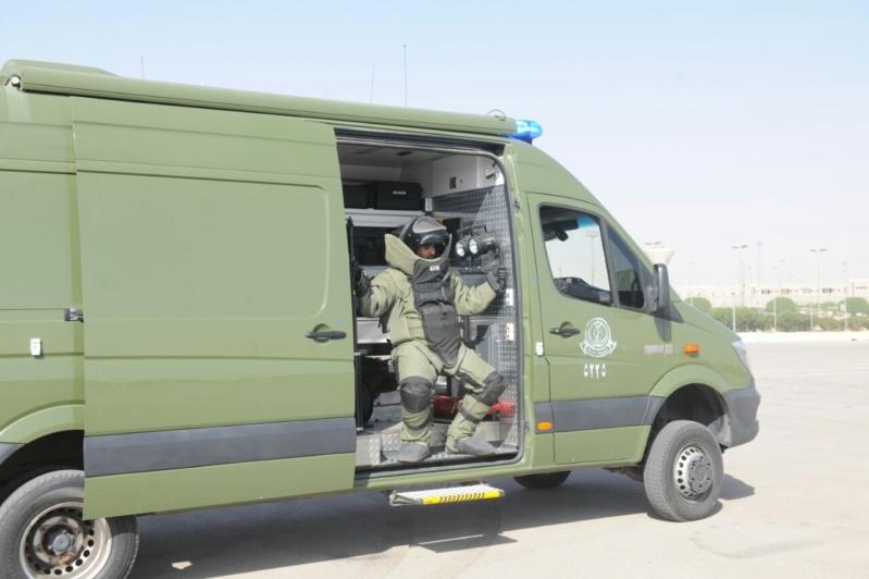 """اللواء العتيبي يتفقد جاهزية الوحدات المشاركة بالتمرين المشترك """"أمن الخليج العربي1"""" (7)"""