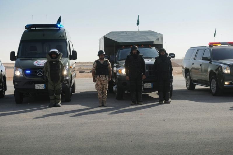"""اللواء العتيبي يتفقد جاهزية الوحدات المشاركة بالتمرين المشترك """"أمن الخليج العربي1"""" (9)"""