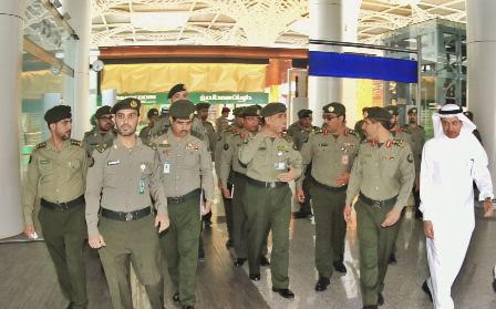 اللواء اليحيى مطار الامير محمد بن عبدالعزيز3