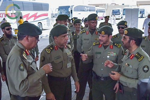 اللواء اليحيى منفذ الوديعة1