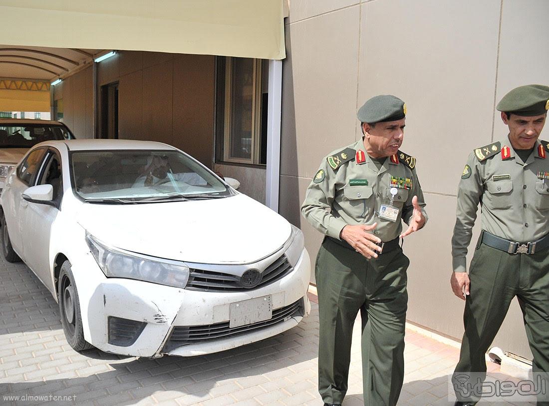 اللواء اليحيى يدشن صالة ذوي الاحتياجات الخاصة بجوازات الرياض (7)