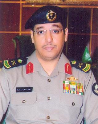اللواء خالد البوق - مدير شرطة منطقة تبوك