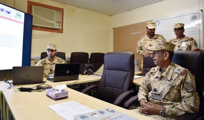 اللواء ركن الامير نايف بن ماجد ال سعود قائد لواء الامام محمد بن سعود