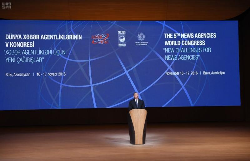 المؤتمر الدولي الخامس لوكالات الأنباء يفتتح أعماله في أذربيجان 1