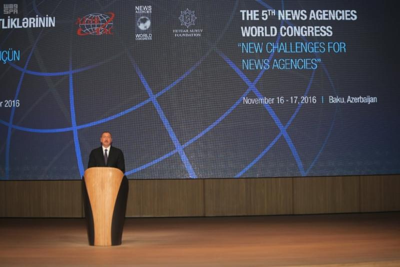 المؤتمر الدولي الخامس لوكالات الأنباء يفتتح أعماله في أذربيجان 5