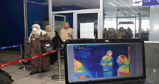"""إعادة تشغيل الكاميرات الحرارية بمطار جدة للوقاية من """"أيبولا"""" - المواطن"""