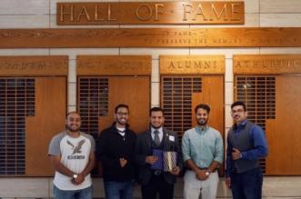 """المبتعث الرشيدي أول طالب عربي يحصل على جائزة """"قاعة الشهرة"""" بجامعة واشنطن - المواطن"""