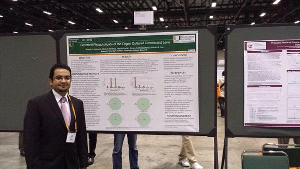 بحث علمي سعودي يشارك في أهم مؤتمر لطب العيون بأمريكا