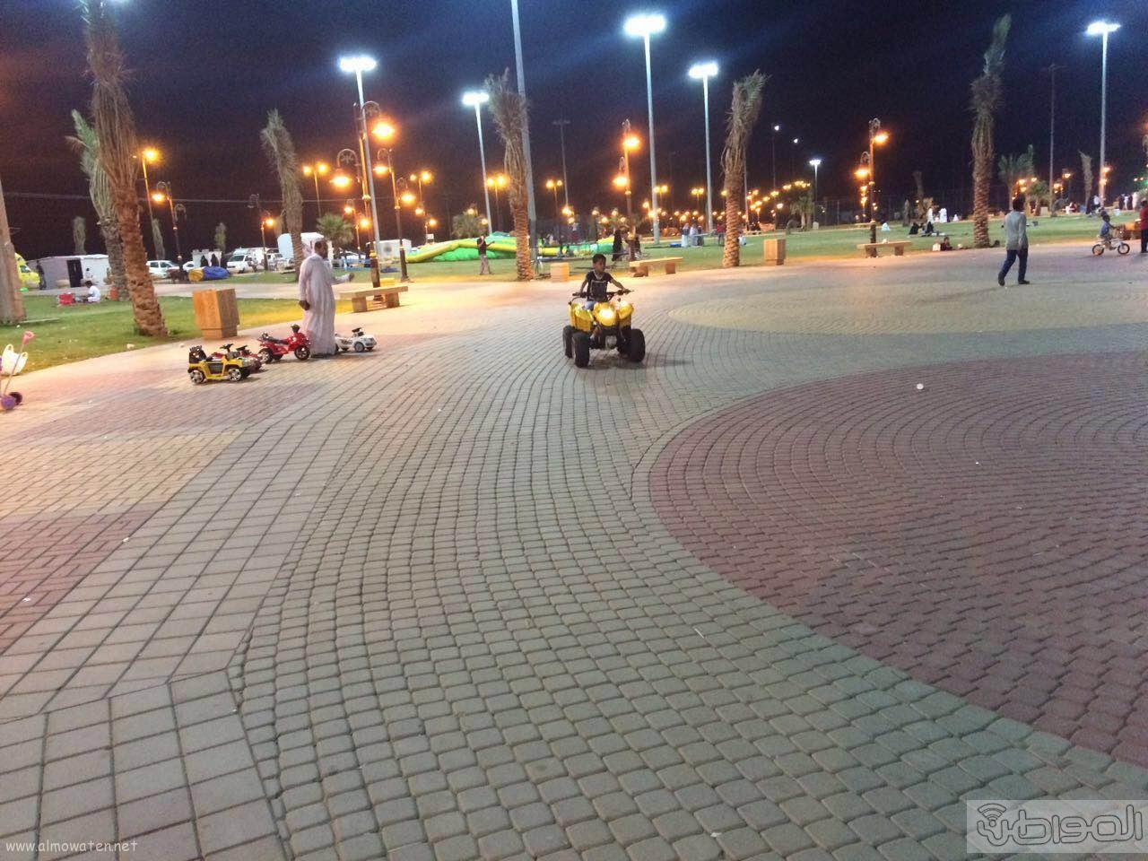 المتنزهين بمنتزه وممشى المحالة  (2)