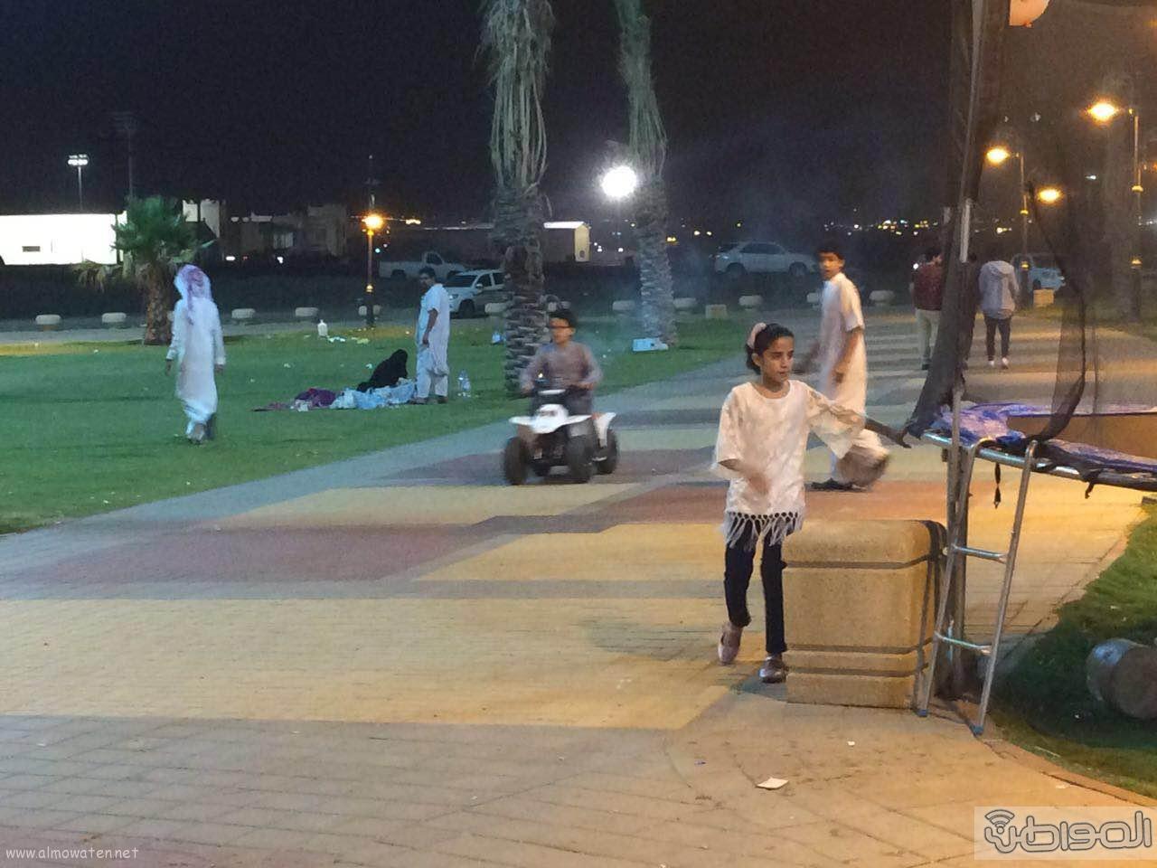 المتنزهين بمنتزه وممشى المحالة  (4)